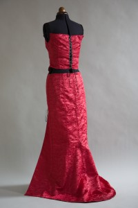 Shiny Red Dress