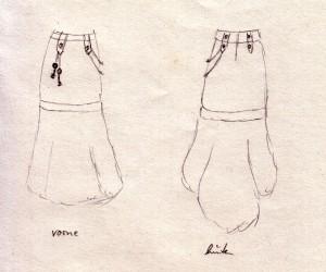 Airship Captain Diva Skirt