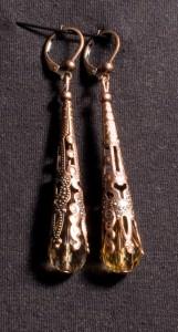 Indische Honigtropfen Ohrringe