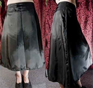 Langer Petticoat unfertig