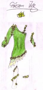 Poison Ivy Entwurf