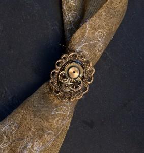 Zahnrad Kameen Ring