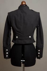 Romantische Military Jacke