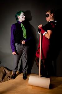 Küsschen für den Joker