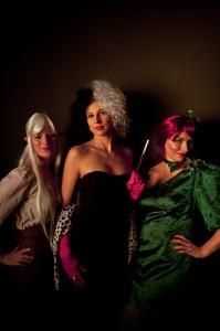 Lei'ella, Cruella und Ivy (Laurent Goletz)