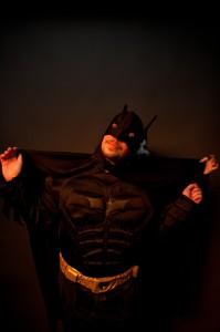 Batman mit dem Feind im Rücken... (Laurent Goletz)