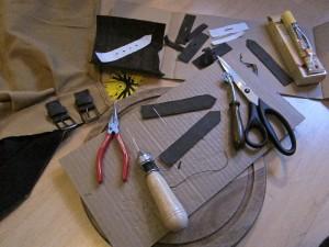 Arbeiten mit Leder