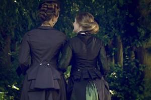 Dark Victorian Gown