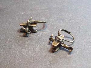 Doppeldecker Ohrringe