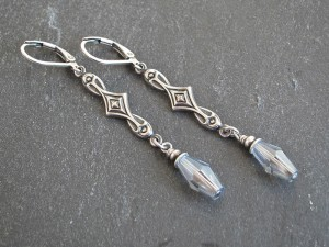 Kristallsplitter Ohrringe