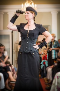 Jasmin als Airship Captain Diva
