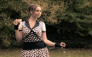 Teekännchen Kleid