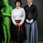 Zweimal Mary Poppins mit Froschkönig