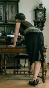 Steampunkige Büro-Klamotte