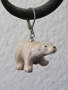 Eisbär Ohrringe