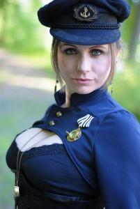 Captain JessiCat auf dem Aethercircus ;-)