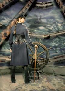 Captain Nemo auf der Brücke