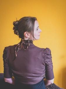 Pulswärmer Variation 1, Halsband