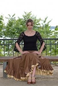 Flamenco Goldbraun
