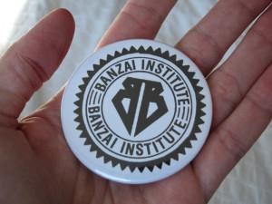 Buckaroo Banzai Button