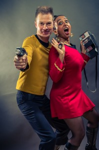Kirk und Uhura