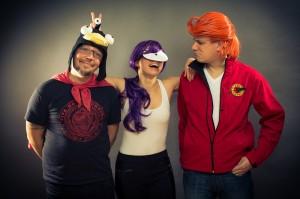 Lord Nibbler, Leela und Fry