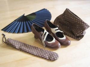Schuh- und Fächer-Beutel