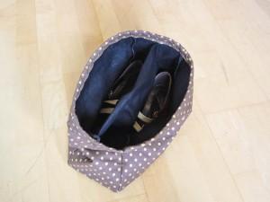 Schuh-Beutel: ein Fach pro Schuh