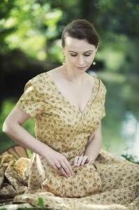 Täschchen zum Picknick-Kleid