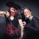 Eine Piratin und das Mädchen mit den Kiemen