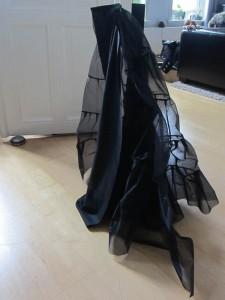 von allein stehende Petticoat Innereien ;-)