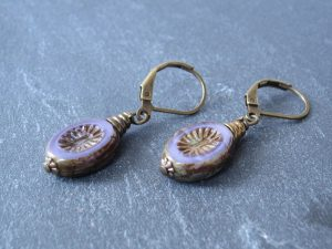 Mystical Stone Earrings