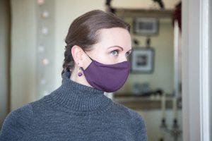 Gesichtsmasken: Violett